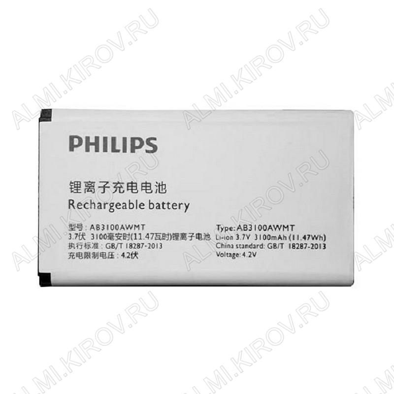 АКБ для Philips E180 / E181 AB3100AWMC / AB3100AWMT