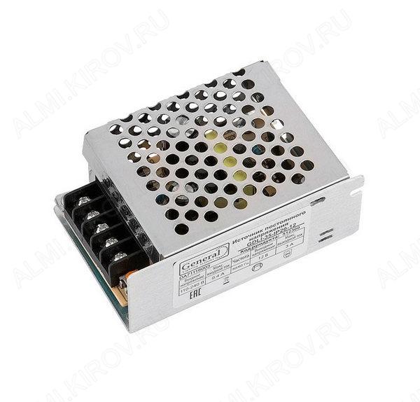 Модуль AC/DC GDLI-35-IP20-12 (512300)   12V 3.0A 35W 86*58*33мм; защитный кожух; клеммы