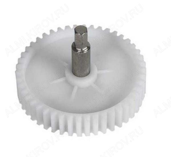 Шестерня мясорубки с металлическим стержнем (диаметр 84)