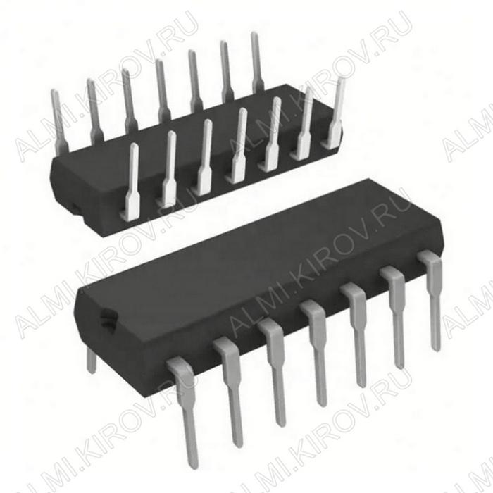 Микросхема CD4002 (MB84002)