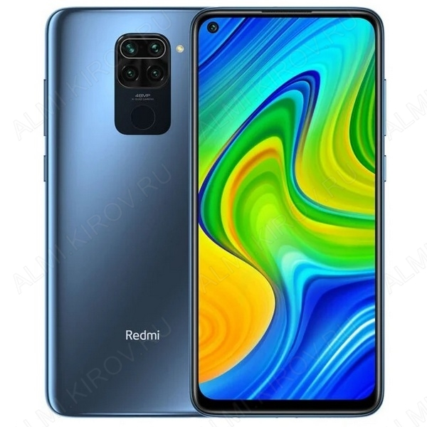 Смартфон Xiaomi Redmi Note 9 3/64Gb черный (Gray)