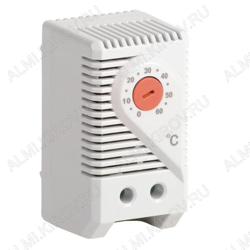 Термостат YCE-TNC-00-60, от 0 до +60град., NC, 240В, макс пусковой ток 10А