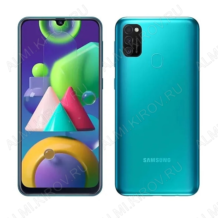 Смартфон Samsung Galaxy M21 4/64GB Бирюзовый
