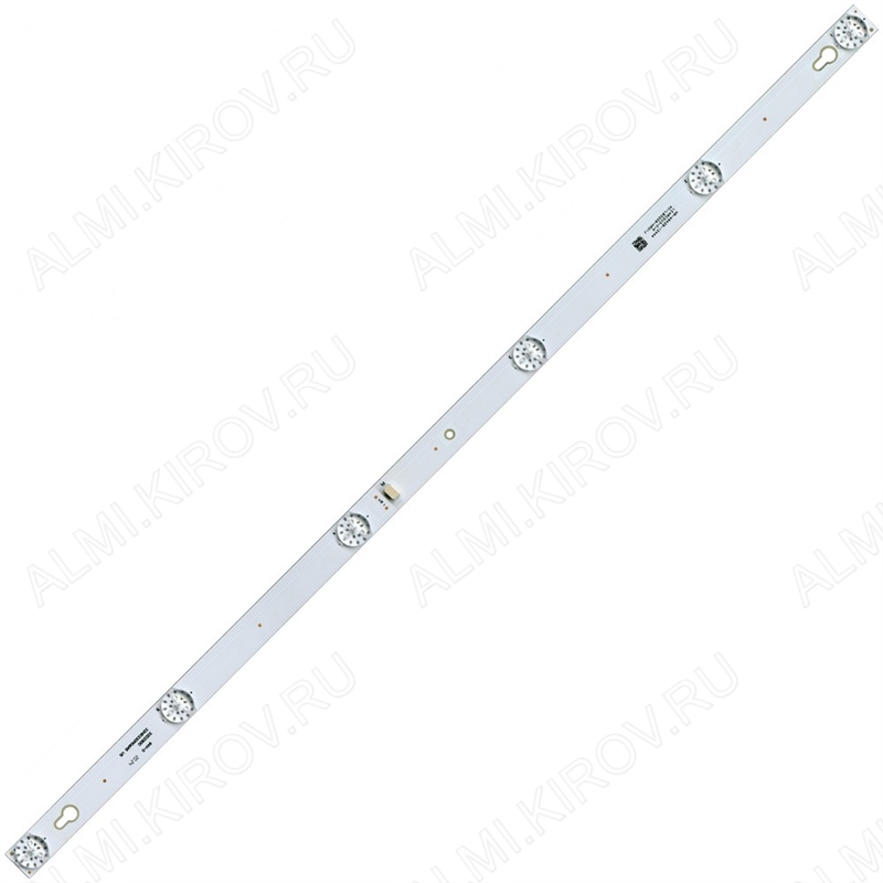 Модуль подсветки LED TV 560*17мм 6 линз; 32HR330M06A5_V5 (4C-LB3206-HR01J) 6V; шаг 96_116_116_116_96mm; 32