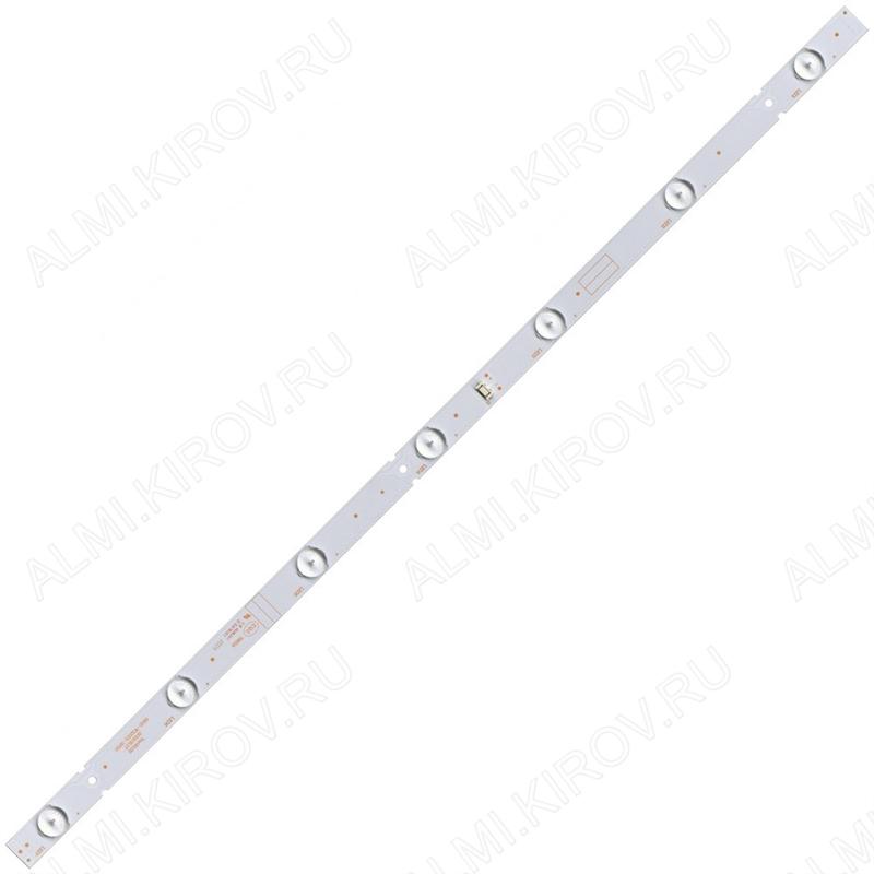 Модуль подсветки LED TV 605*18мм 7 линз; 5800-W32001-3P00 3V; шаг 93_93_86_86_93_93mm; 32