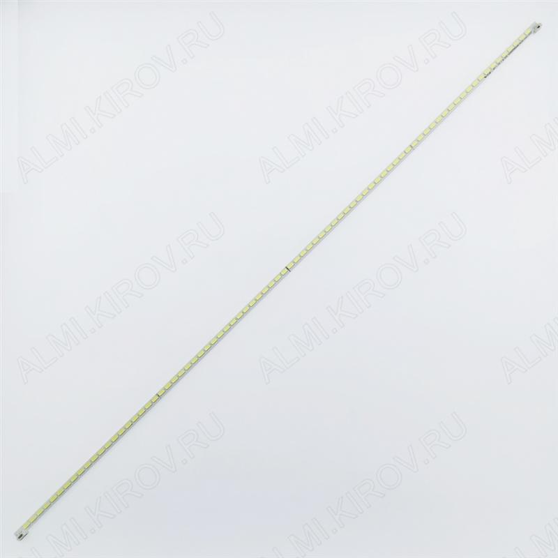 Модуль подсветки LED TV 677*7мм 80 LED; SLED_2012SGTS550A66-80LED-rov0.1-111117 6V; шаг 8mm; 55