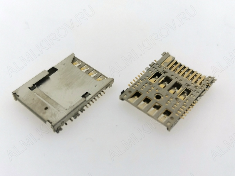 Коннектор для SIM+MMC Samsung N9000