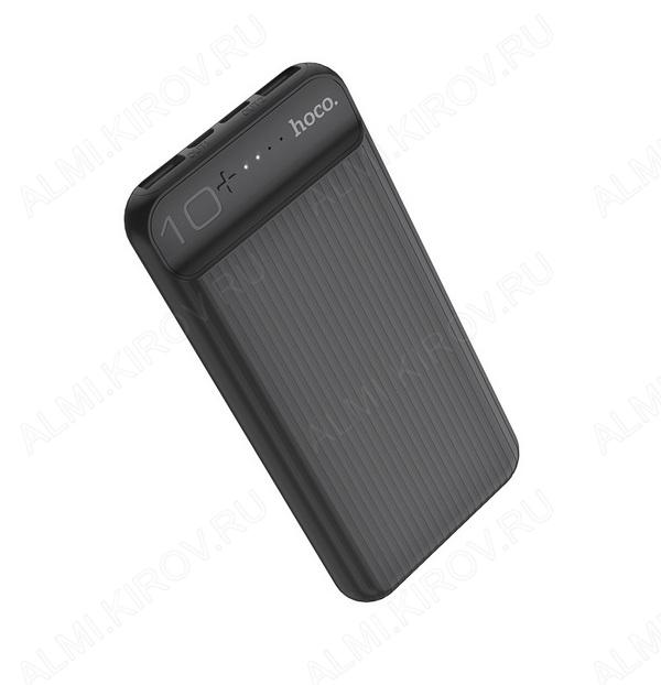 Аккумулятор внешний 10000mAh J52 New Joy, черный выход: 2*USB; 2.0A; LED-индикация
