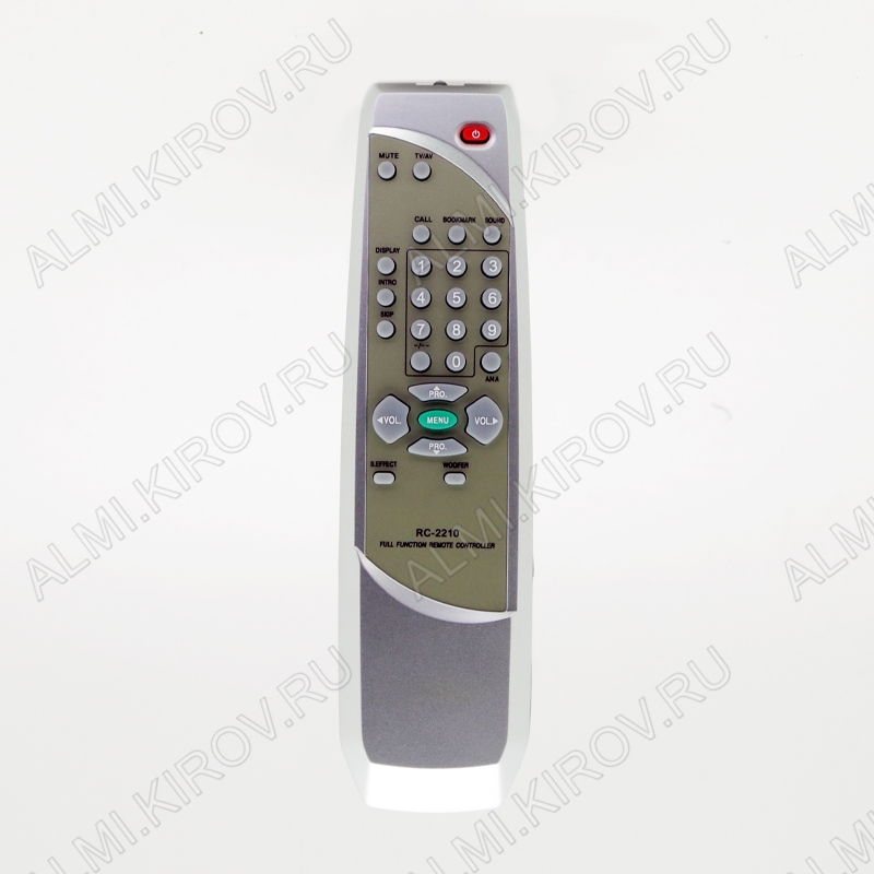 ПДУ для POLAR RC-2201 (RC-2210) TV