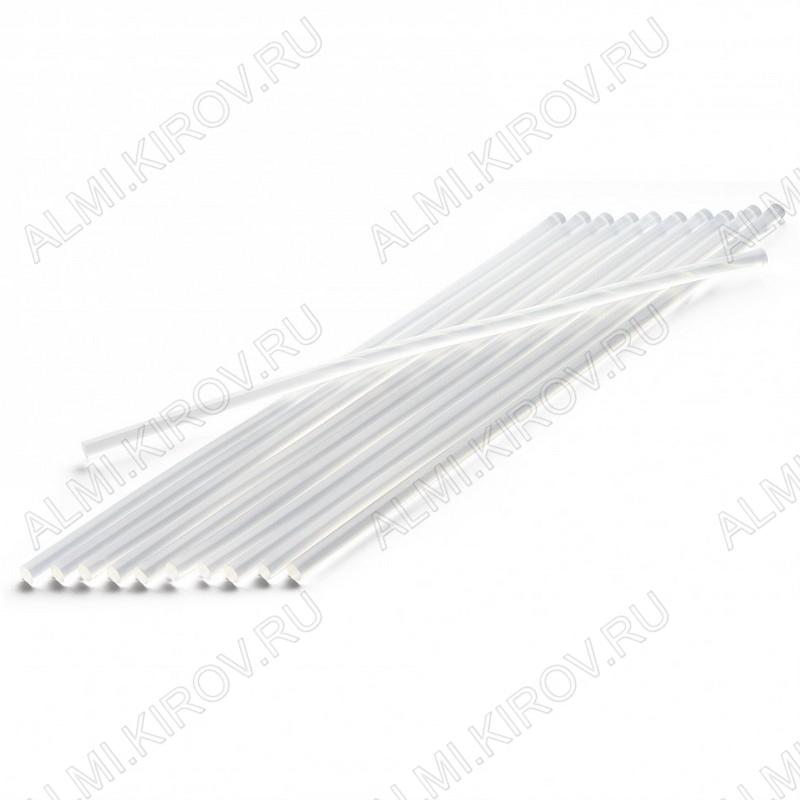 Термоклей d=11мм прозрачный длина 300мм