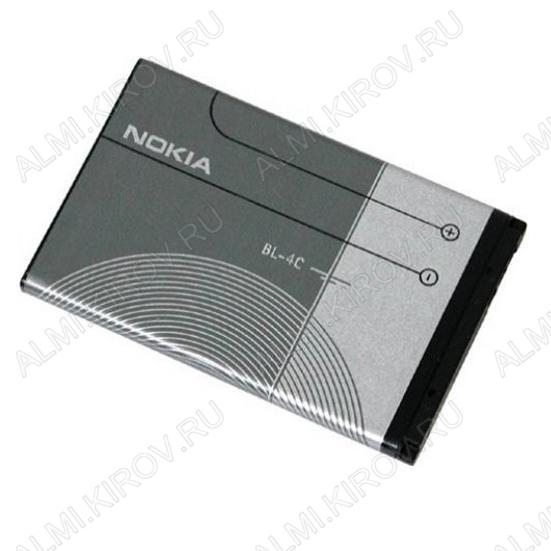 АКБ для Nokia 6100/ 5100/ 6260 Slide/ 2650/ 6101 Li-ion BL-4C