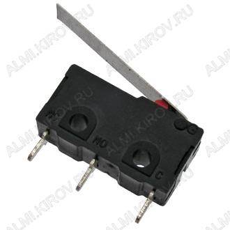 Переключатель MSS-10 (SM5-03P) пластина 3.0A/250V; 3 pin