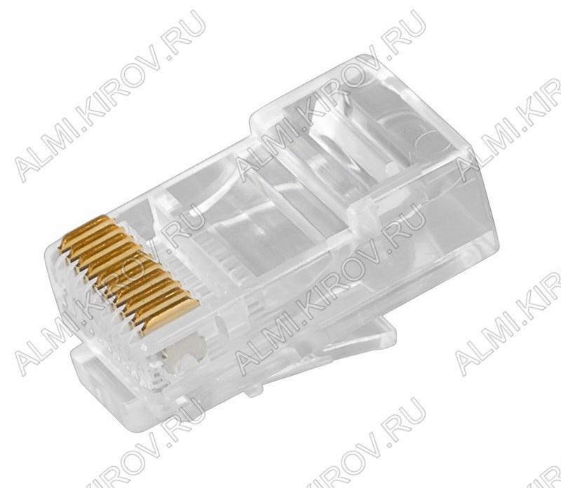 Разъем (238) TP-10P10C Вилка на кабель, 10*10