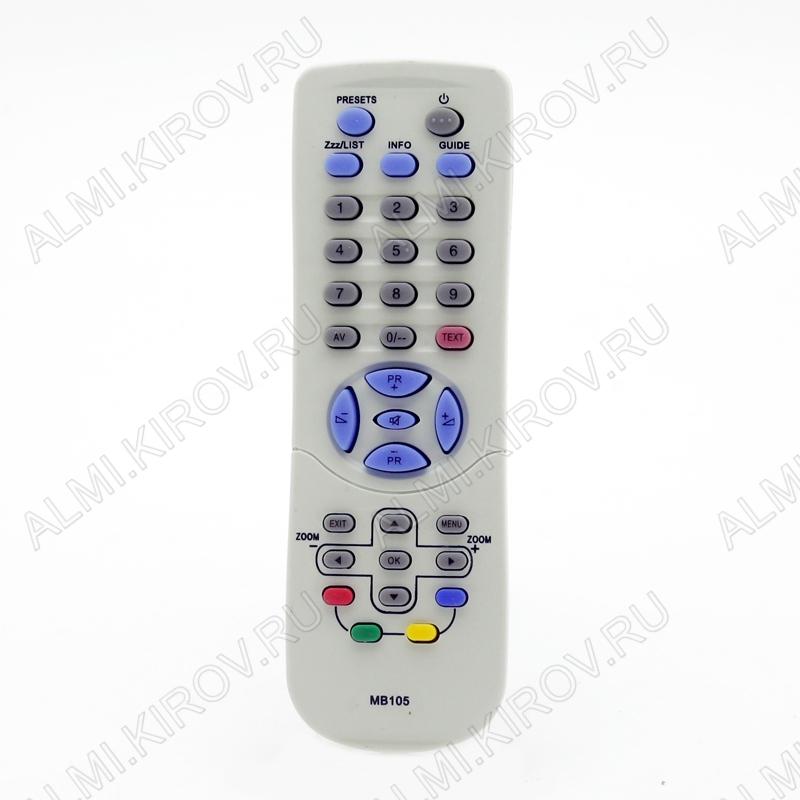 ПДУ для THOMSON MB-105 TV