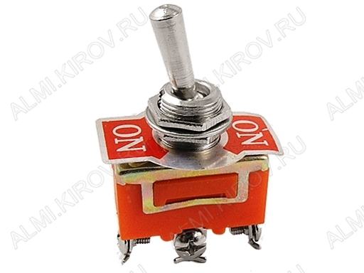 Тумблер KN3C-102 (250V;15A) ON-ON 3 pin