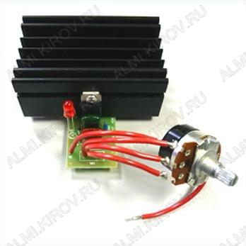 Радиоконструктор Регулятор мощности 2500Вт 220В BM247 (на симисторе) 220В (11А). Устройство предназначено для регулирования мощности электронагревательных, осветительных приборов, мощности электропаяльника