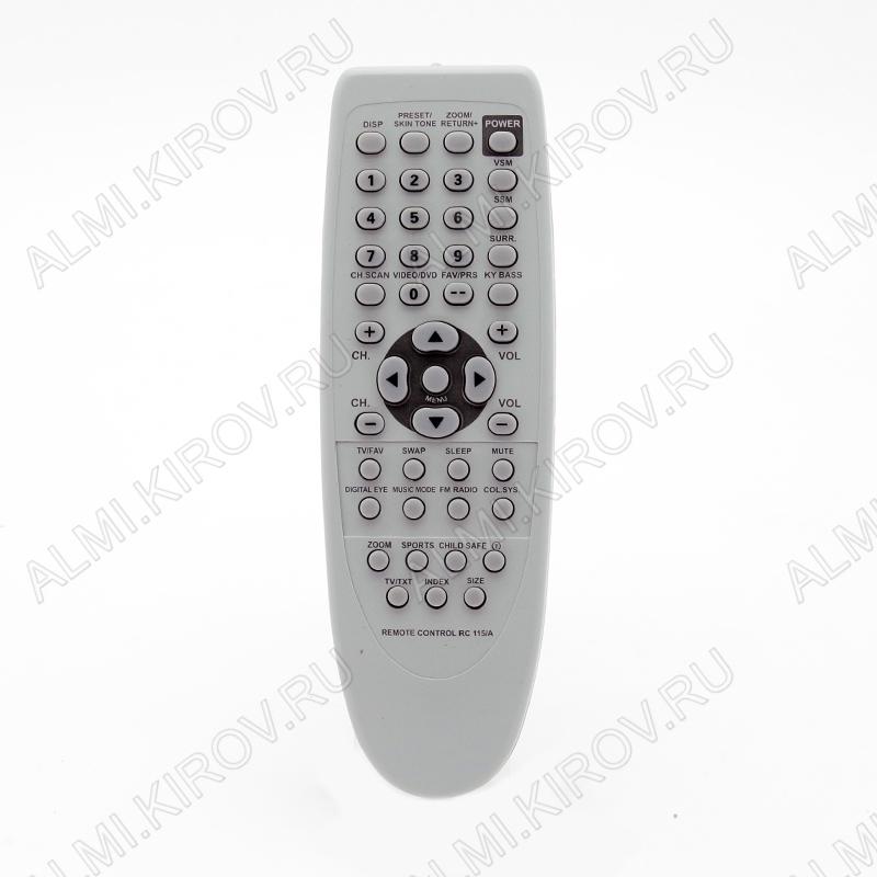 ПДУ для ONIDA RC-115A TV