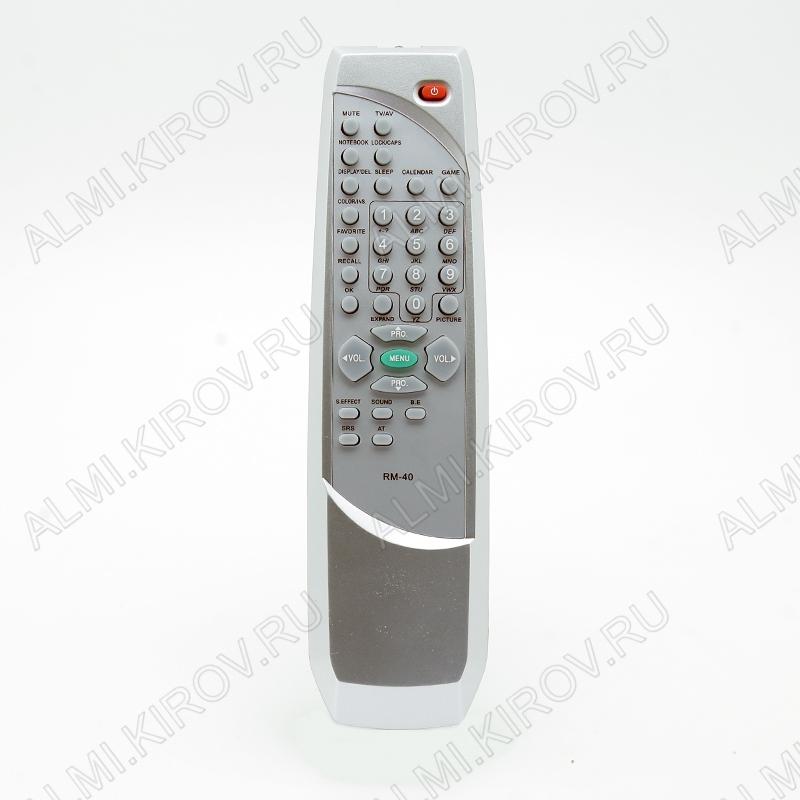 ПДУ для ELENBERG RM-40 TV