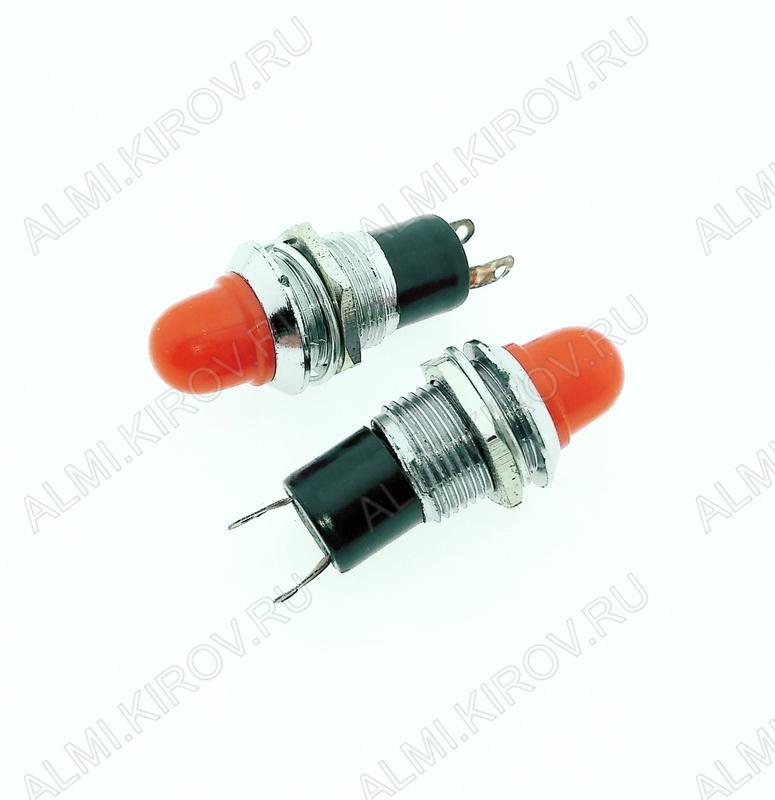 Лампа индикаторная 12V RWE-208 красная, d=10.0mm
