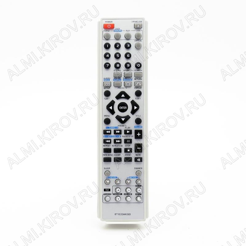 ПДУ для LG/GS 6710CDAK09D DVD