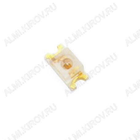 Светодиод KP-2012SYC  SMD0805(2012) жёлтый 150mcd 120°; 20mA; 588nm; прозрачный