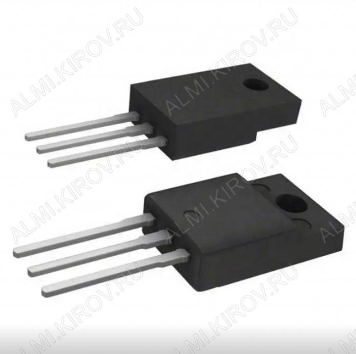 Транзистор FQPF8N80C MOS-N-FET-e;D-MOS,QFET;800V,8A,1.55R,59W