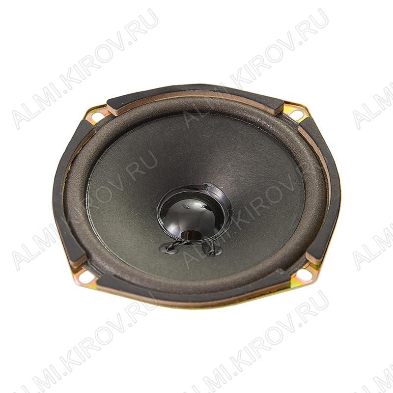 Динамик Ш/П 119*119mm  YD120-2YP; 4R; 5W/10W; 95-10000Hz; H=48мм;Чувствительность, дБ 88; открытый магнит 60мм;для акустических систем