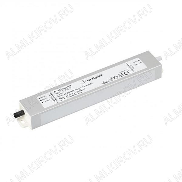Модуль AC/DC ARPV-12030-B (020003)   12V 2.5A 30W 182*29*20мм; герметичный; металл; провода