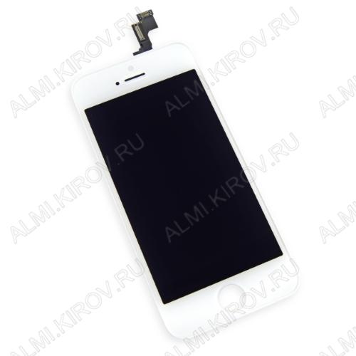 Дисплей для Apple iPhone 4 модуль белый дисплей, стекло, тачскрин