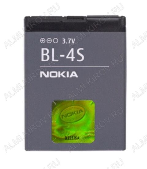 АКБ для Nokia 2680Slide/ 3600Slide/ 7100SuperNova/ 7610 Orig BL-4S
