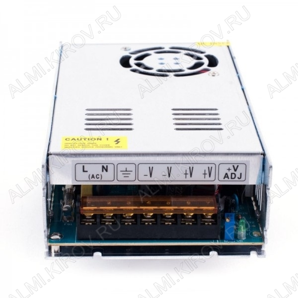 Модуль AC/DC S-350-12 (000124)   12V 29.5A 350W 200*100*50мм; защитный кожух; клеммы; вентилятор