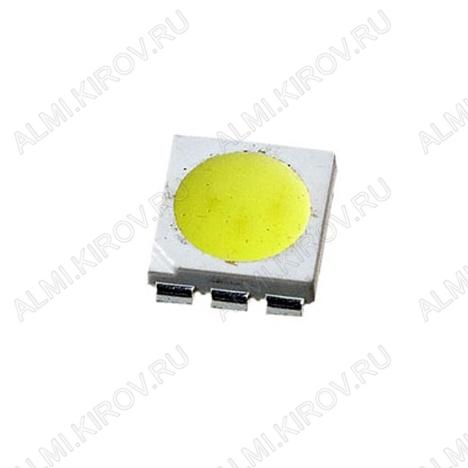 Светодиод ARL-5060UWC_(015257)  SMD2024(5060) белый 6500mcd 120°; 60mA; 6000K; матовый_жёлтый