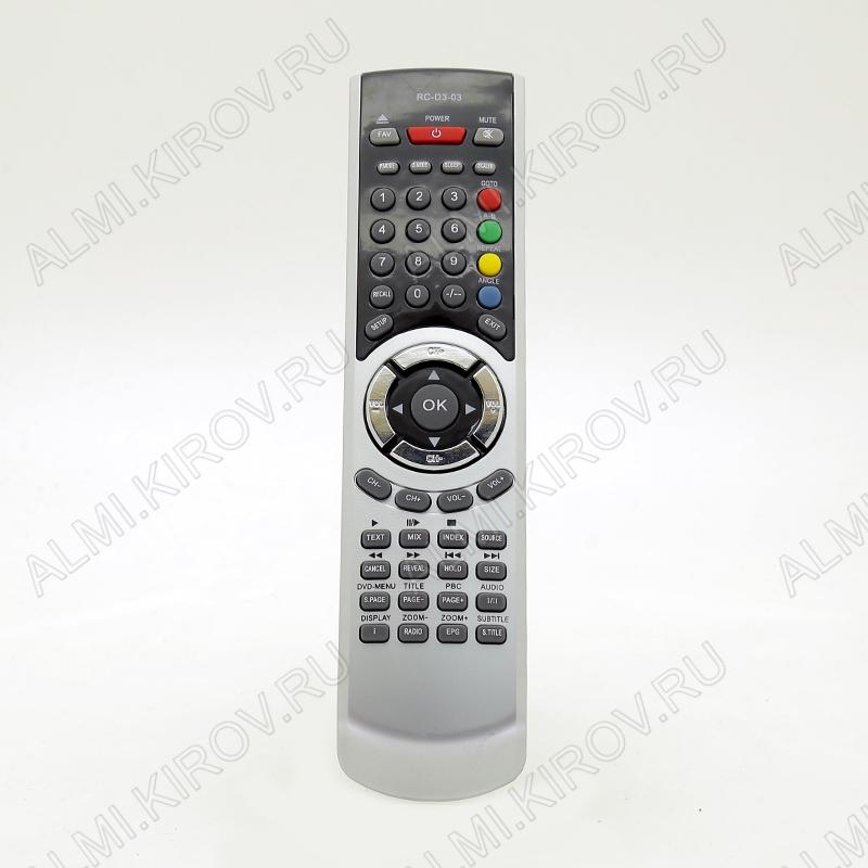 ПДУ для SHIVAKI RC-D3-03 LCDTV