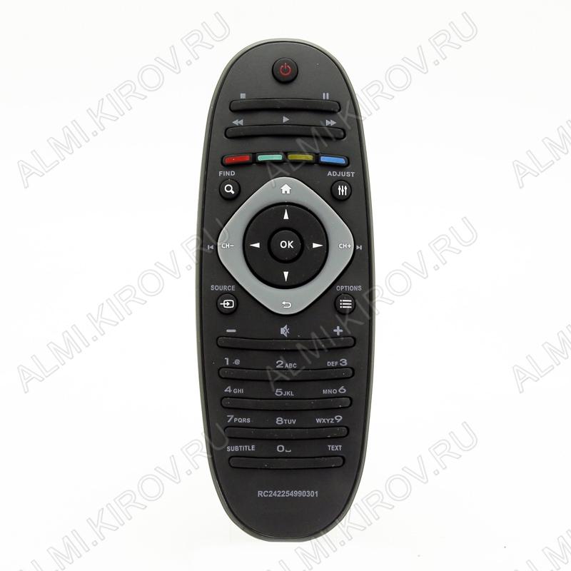 ПДУ для PHILIPS 2422 549 90301 LCDTV (ОВАЛ)