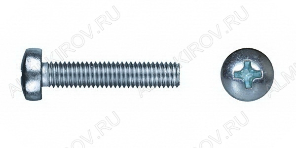 Винт (№10) п/цилиндр М4х12 Упаковка 50шт