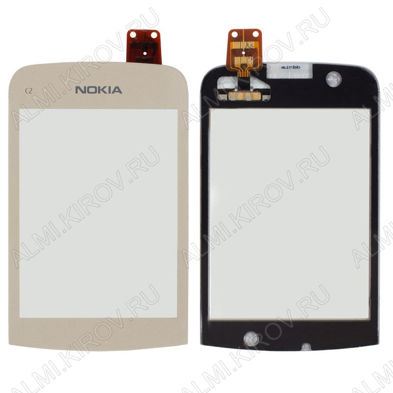 ТачСкрин для Nokia C2-02/C2-03/C2-06-C2-07/C2-08 белый