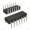 Микросхема К190КТ2П 4-канальный коммутатор тока, Rк=50 Ом; Iк=50 мА.