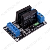 Модуль Реле, 2-канальное 5В, твердотельное, G3MB-202P 2 канала; Максимальный ток: 5А; Коммутирующее напряжение: 5В; Коммутируемое напряжение: от 100В до 220В