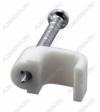 Скоба крепления плоского кабеля l=6,0mm (50шт)