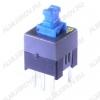 Кнопка PS-700L (с фикс.) 7.0x7.0x12.0mm; 0.1A/30VDC; 6pin