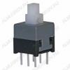 Кнопка PS-850L (с фикс.) 8.5x8.5x14.0mm; 0.1A/30VDC; 6pin