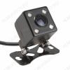 Видеокамера заднего вида TS-CAV05 (HAD-61) автомобильная LED подсветка; цветная, PAL, разрешение 420 линий, угол обзора 120°, питание 12V, видеовыход RCA