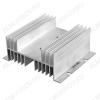 Радиатор реле твердотельного РТР062.1 Для однофазного реле,144x110x50 мм