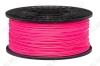 ABS пластик для 3D принтера 1.75мм. Розовый, светится в УФ (6058)