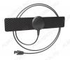 Антенна комнатная BAS-5110-P BLACK пассивная ДМВ/DVB-T2; 2dB; с кабелем 1.2м