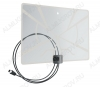 Антенна комнатная BAS-5324-5V активная ДМВ/DVB-T2; 33dB; питание 5V от ресивера; с кабелем 2м