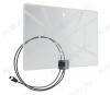 Антенна комнатная BAS-5324-USB активная ДМВ/DVB-T2; 33dB; питание 5V от USB; с кабелем 2м