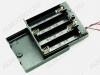 Отсек батарейный (тип 54) AA*4 кейс OFF-ON с выключателем, с проводом 150 мм