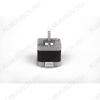 Шаговый двигатель 42BYGHW609 Угловой шаг: 1.8° +5%; Число фаз: 2; Номинальный ток: 1.7 А; Сопротивление фазы: 2 Ом; Индуктивность фазы: 2.8 мГн; Момент инерции: 54  г x см2;