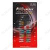 Набор автомобильных предохранителей FC-269 мини блистер 10 штук (5А-1шт, 7.5А-1шт, 10А-2шт, 15А-2шт, 20А-2шт, 25А-1шт, 30А-1шт); экстрактор